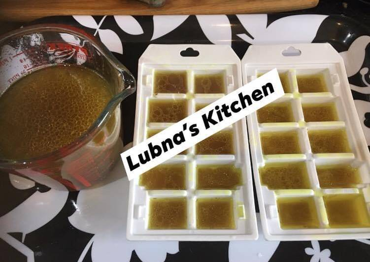 Recipe of Quick How to Make Chicken / lamb / beef (your choice) Stock cubes at Home: