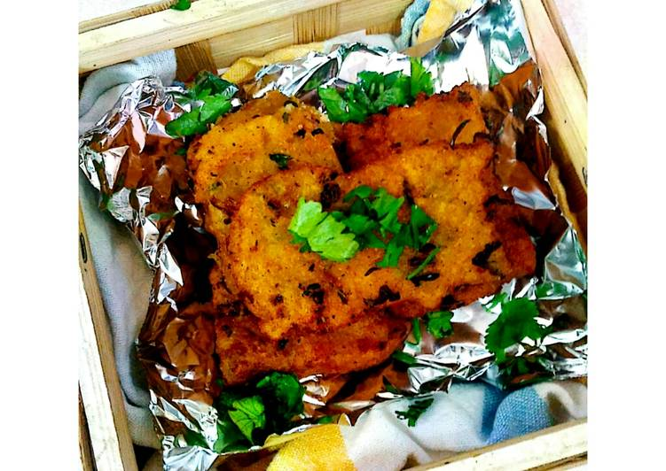 Poha Cutlets - Laurie G Edwards