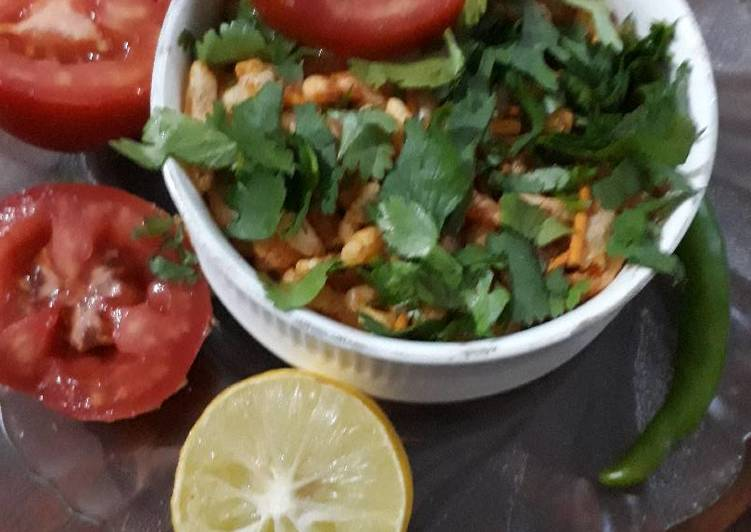 Steps to Prepare Speedy Sprouted Masala Bhel