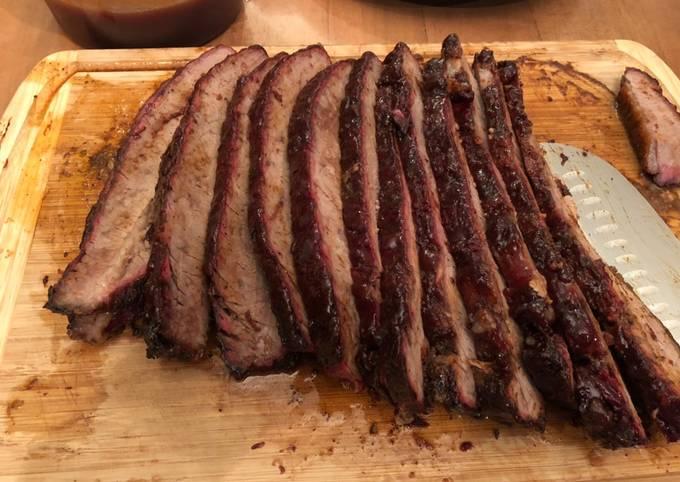Recipe: Tasty Smoked Brisket w/ Phil's Easy BBQ Sauce