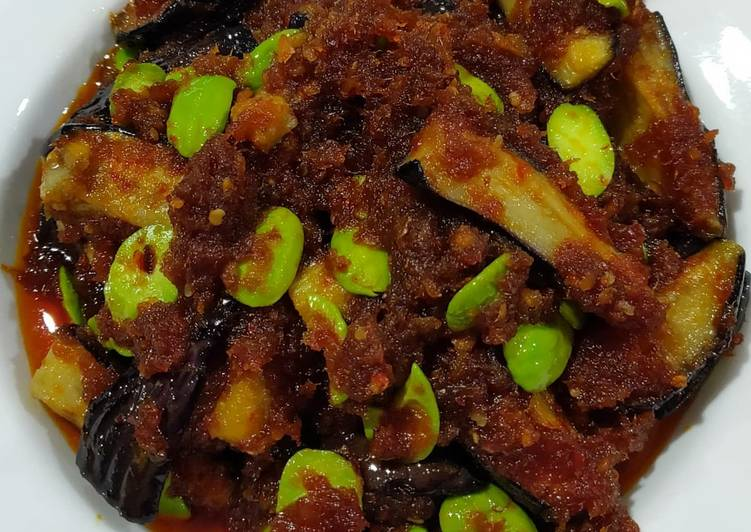 How to Make Perfect Sambal Eggplant and bitter bean