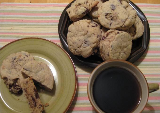 Peanut Butter Choco Chunk Hot Biscuits