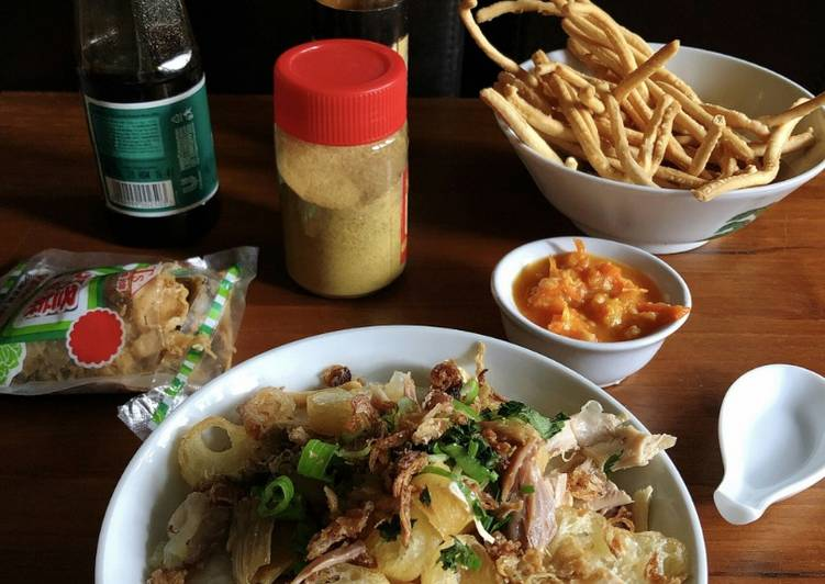 Resep Bubur Ayam Ala Barito Oleh Cooking With Sheila Cookpad