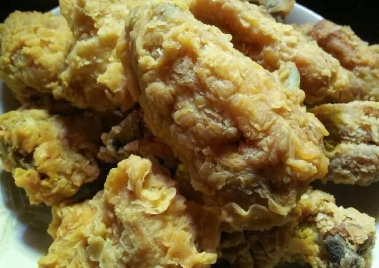 Ayam Kentucky kriboo