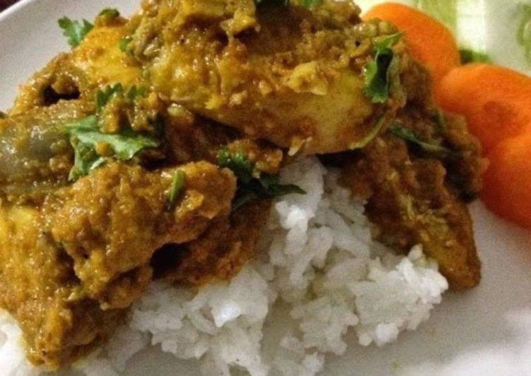 Chicken Sukka (Dry Chicken Curry)