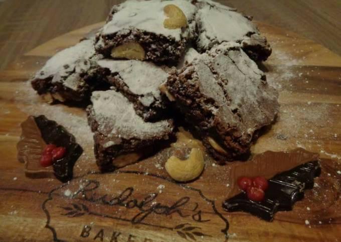 Recipe: Delicious Cashew brownies