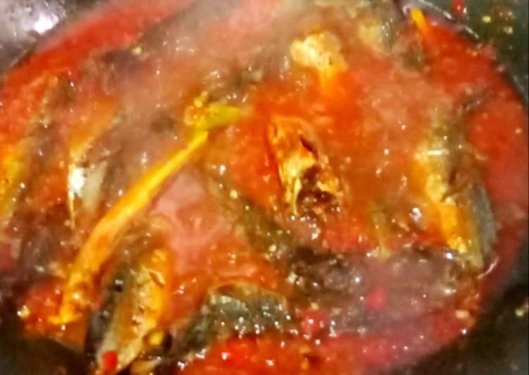 Ikan pindang sambal rica rica