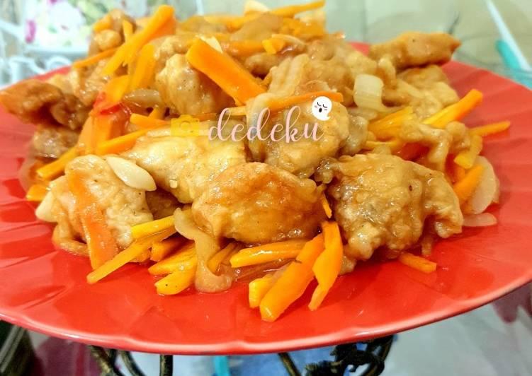 Koloke Ayam (olahan ayam praktis)