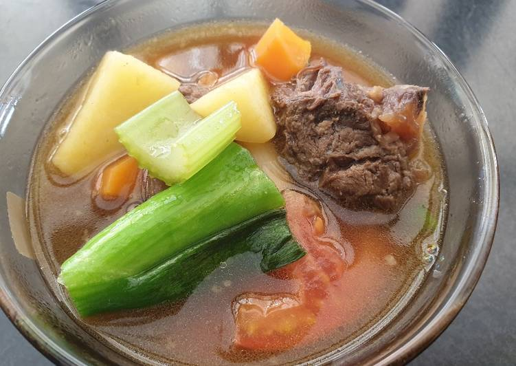 How to Cook Appetizing Beef Soup