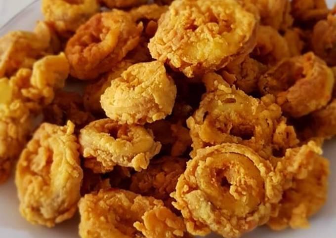 Resep Cumi Cumi Goreng Tepung Krispi Oleh Puetry Wahyuni Cookpad