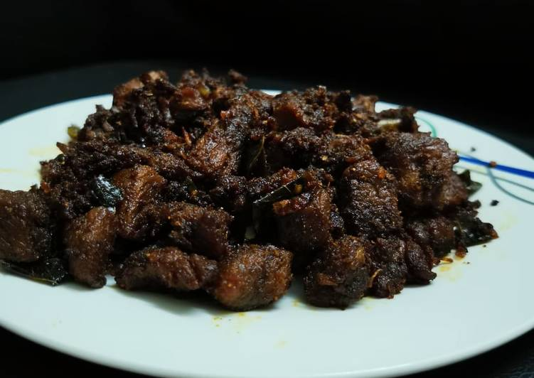 Kuttanadan Beef Roast / Kerala Beef Roast, Heart Friendly Foods You Must Eat