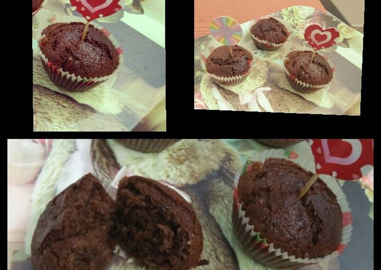 How to Prepare Perfect Chocolate muffin (eggless)