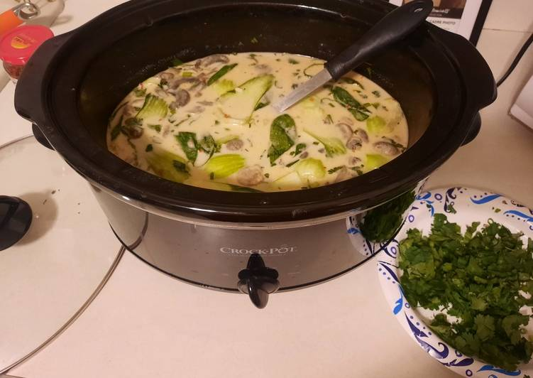 Easiest Way to Make Ultimate Tom Kha Soup