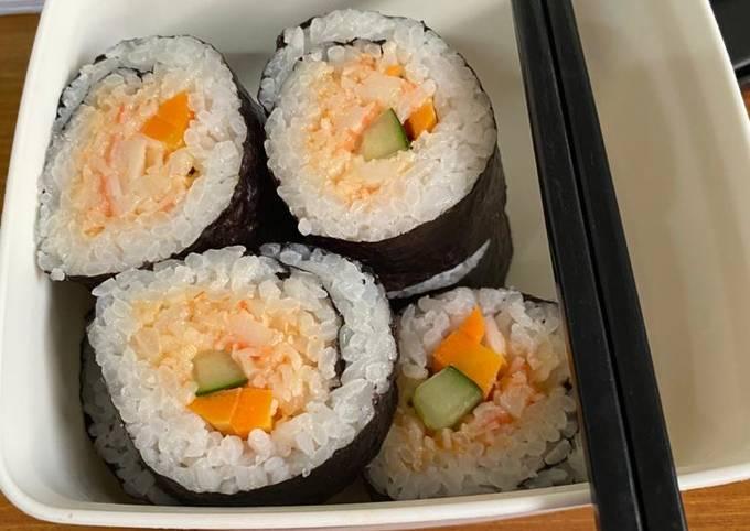 Sushi simple untuk bekal