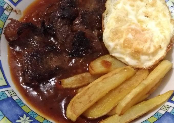 Steak Daging Sapi Simpel