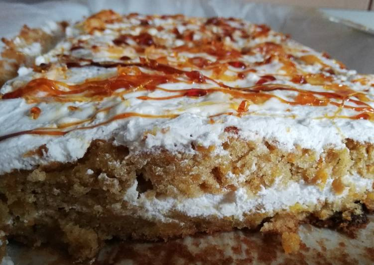 The most perfect carrot cake