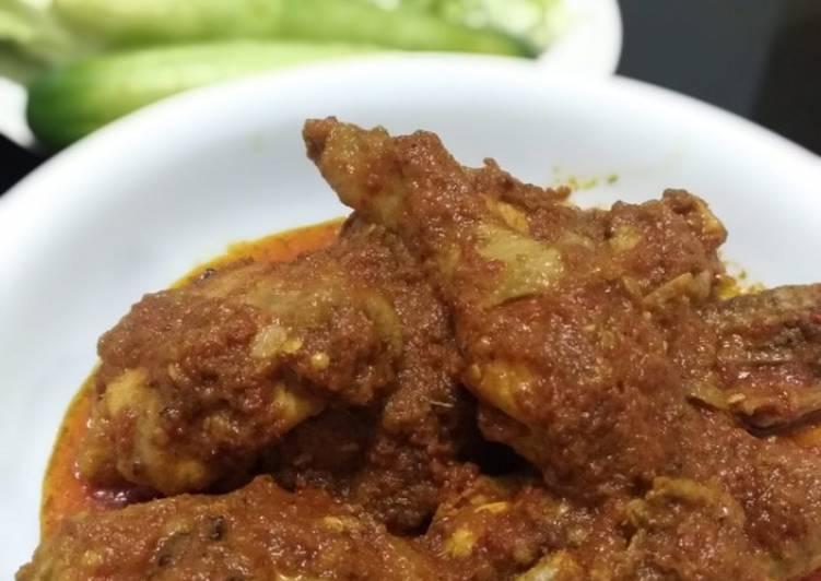 Rendang Ayam mantul