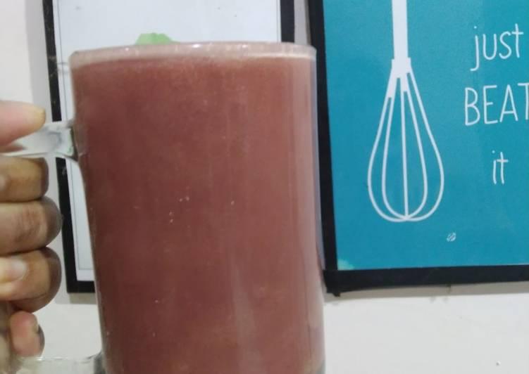 Happy violet juice