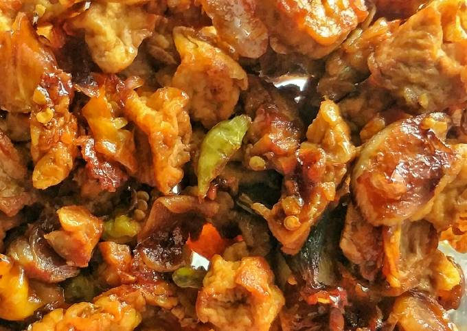 sambal goreng tahu tempe #sarapancepat - resepenakbgt.com