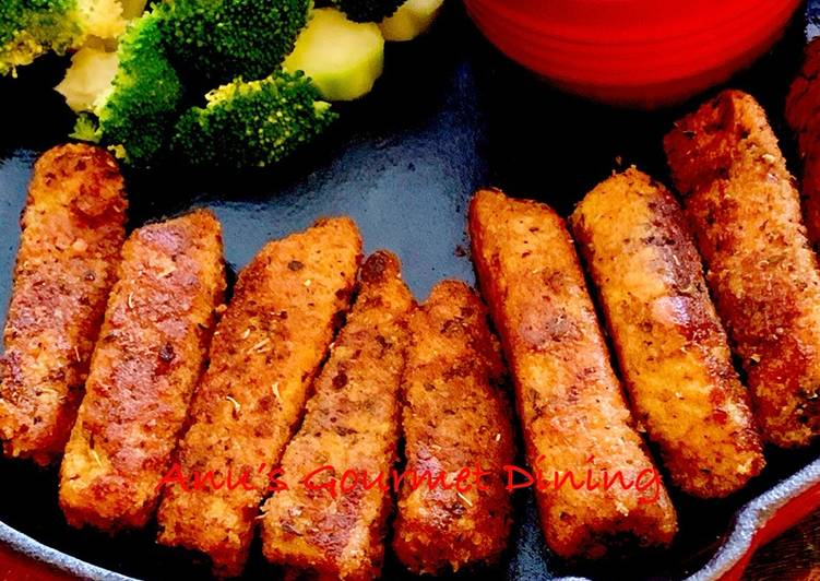 30 Minute Recipe of Ultimate Fish Fingers & Steamed Broccoli