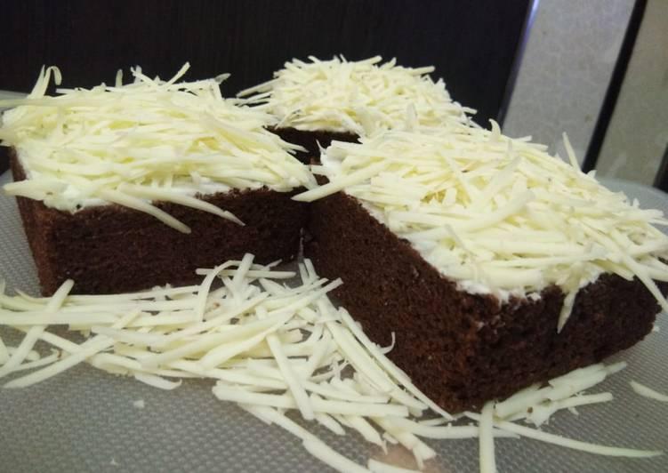 Resep Brownies kukus coklat Super lembut, Lezat Sekali
