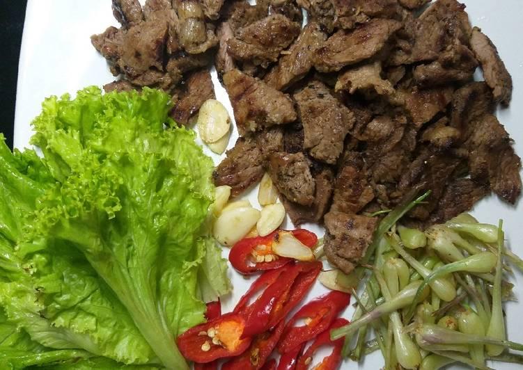Daging sapi panggang ala korea