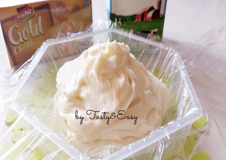Resep CREAM CHEESE HOME MADE [bisa u/ Korean Garlic  Bread-murah, mudah😃👍] Bikin Jadi Laper