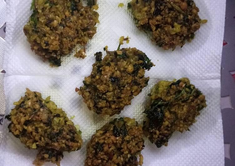 Recipe of Homemade My style falafels#thethemechallenge