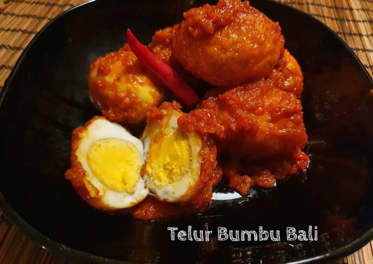 Telur Bumbu Bali Simpel