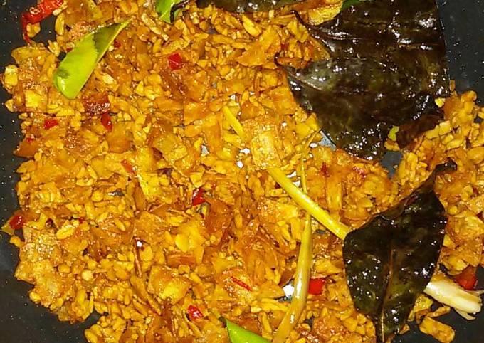 sambel goreng tempe kentang kering - resepenakbgt.com