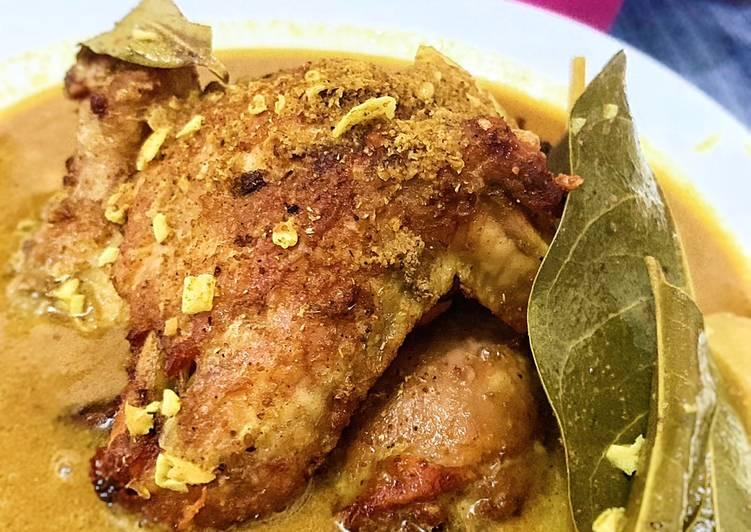 Opor Ayam Bumbu Instan
