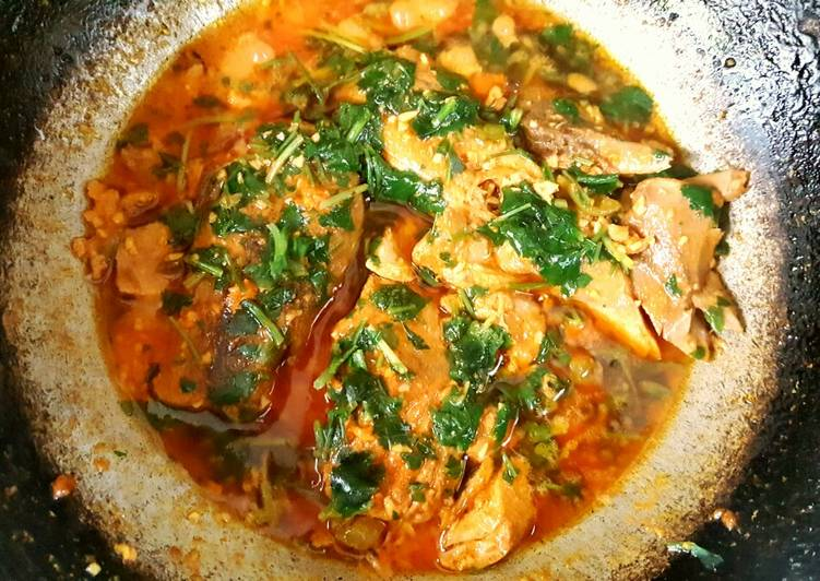Fish Tikka Curry🐟🍜