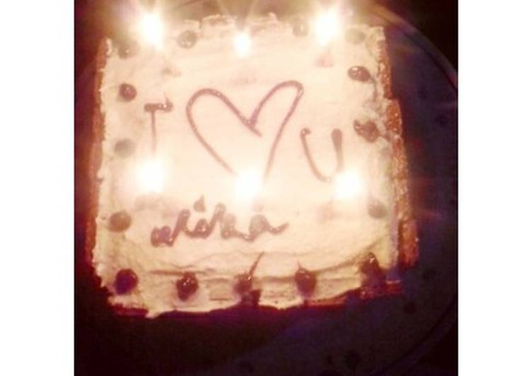 Resep Birthday Cake Easyrecipes Oleh Muvida Nahla Cookpad
