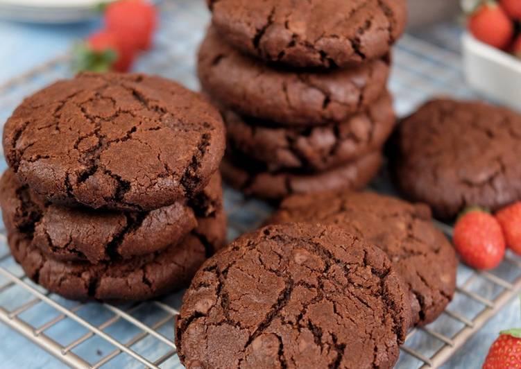 Choco soft cookies - cookandrecipe.com