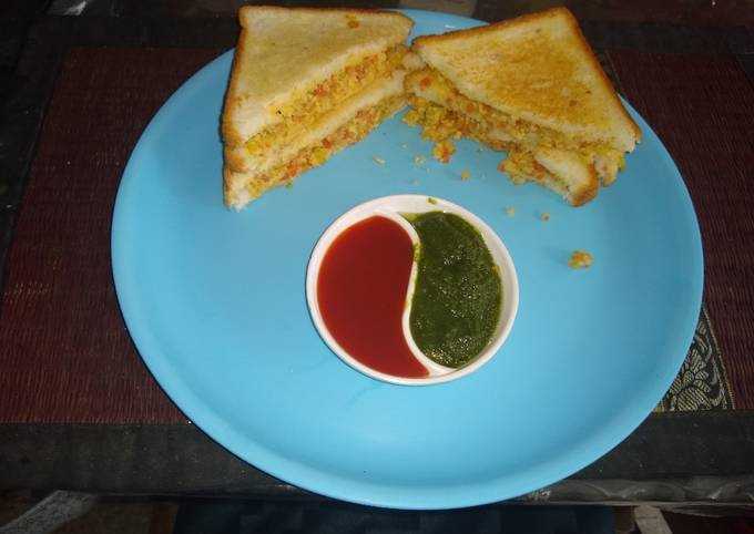 Healthy cheese sandwich