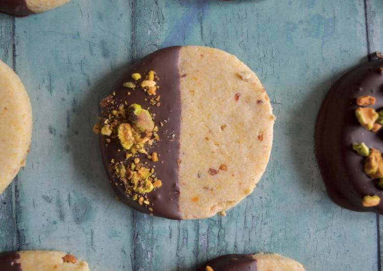 Recipe of Speedy Pistachio Shortbread