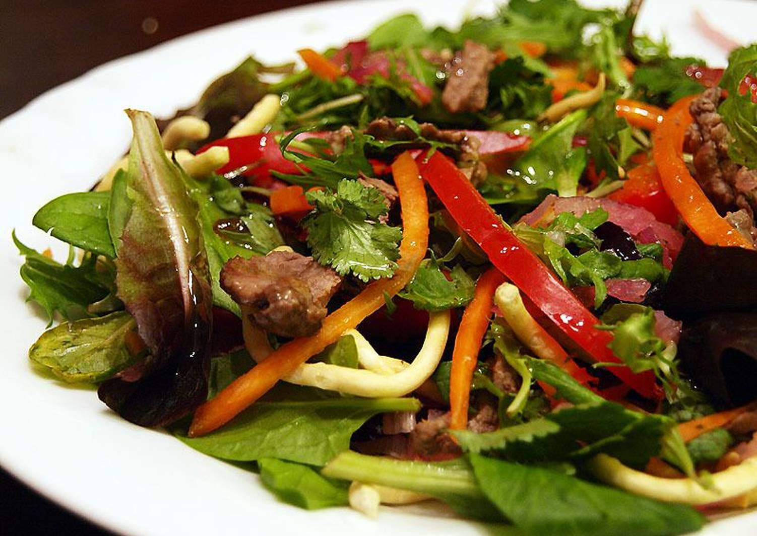 салат из говядины отварной рецепт с фото