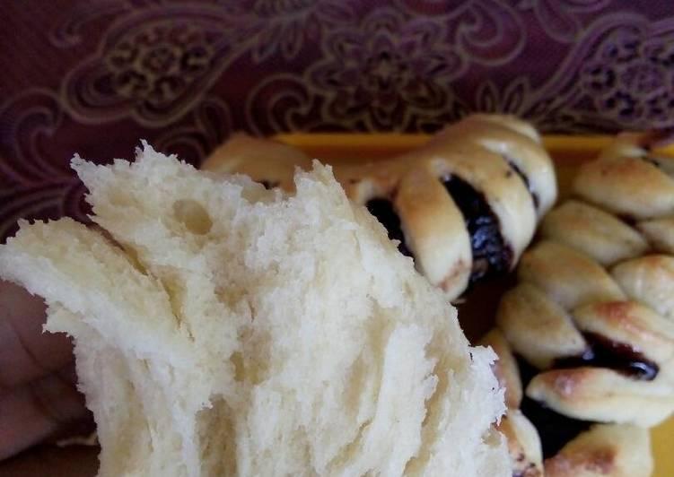 Resep Roti Low Fat (tanpa telur dan margarin) Empuk Paling Mudah
