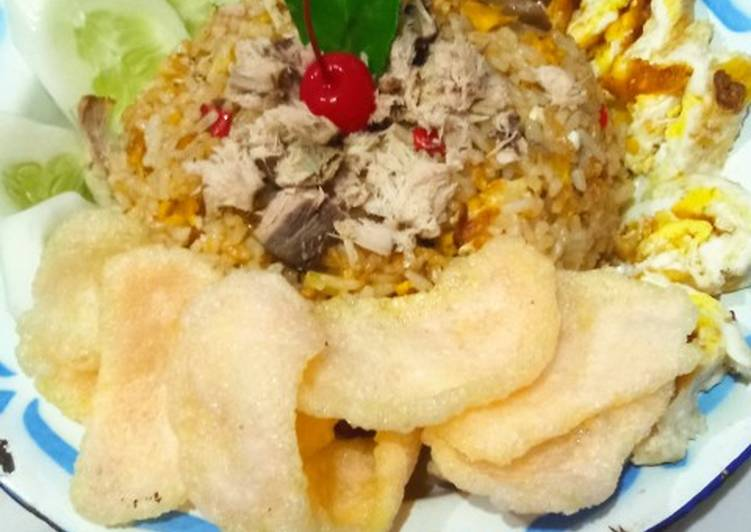 Nasi Goreng gunung tuna😅😅