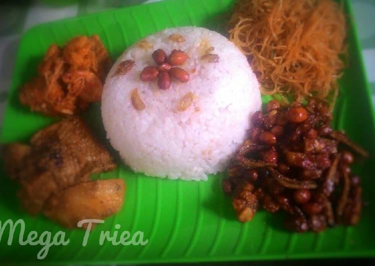 Resep Nasi Uduk simpel Rice Cooker, Enak