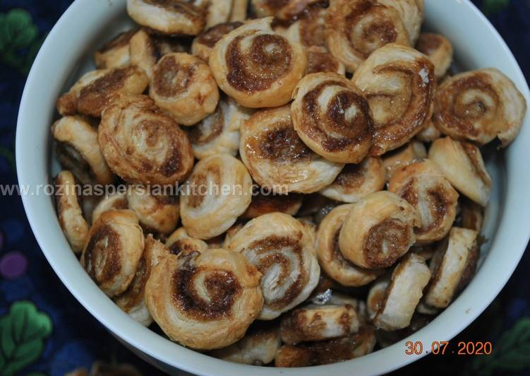 Recipe: Appetizing Tiny Cinnamon Rolls شیرینی رول دارچینی