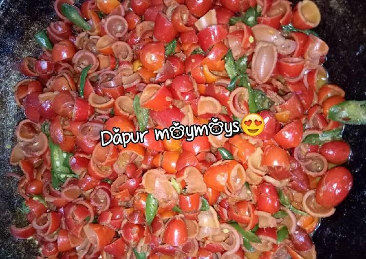 Sayur kulit tangkil #serang