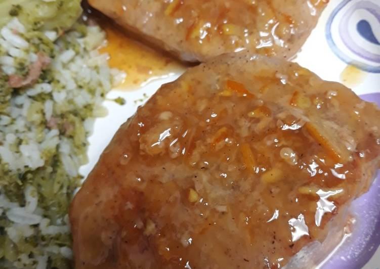 Orange Pork