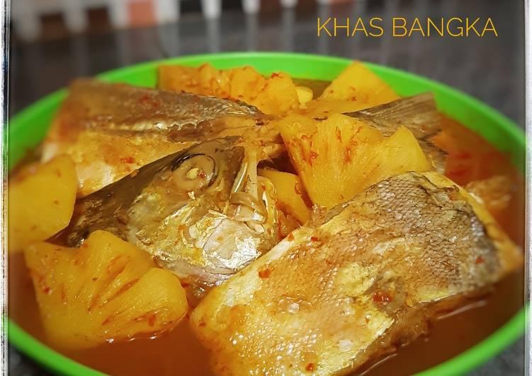 Lempah Kuning Ikan (Khas Bangka)