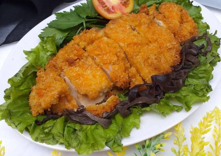 Resep Japanese chicken katsu ekonomis untuk jualan