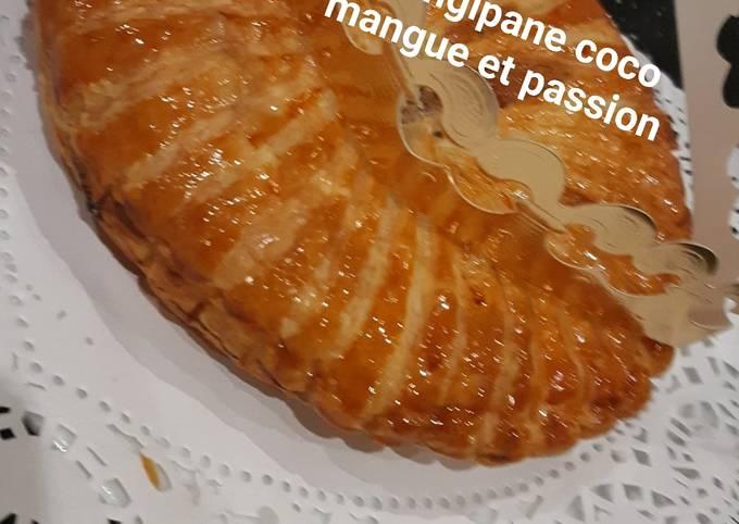 Frangipane coco mangue et passion