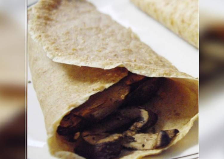 Crêpe de harina integral