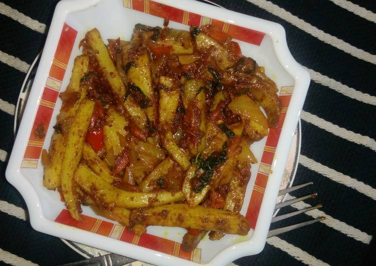 Recipe of Ultimate Chips masala