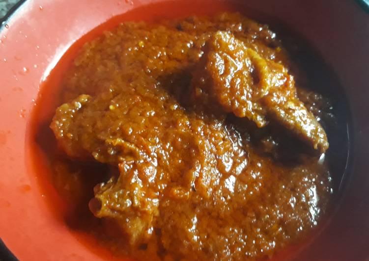 Tomato chicken stew