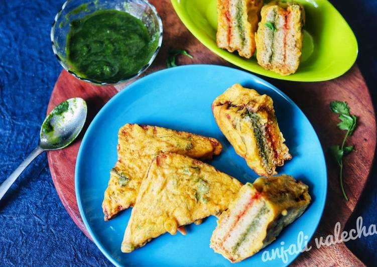 Discover How to Improve Your Mood with Food Bread pakoras